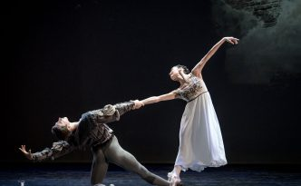 Aliya Tanykpayeva and Dmitry Timofeev in Romeo and Juliet pdd