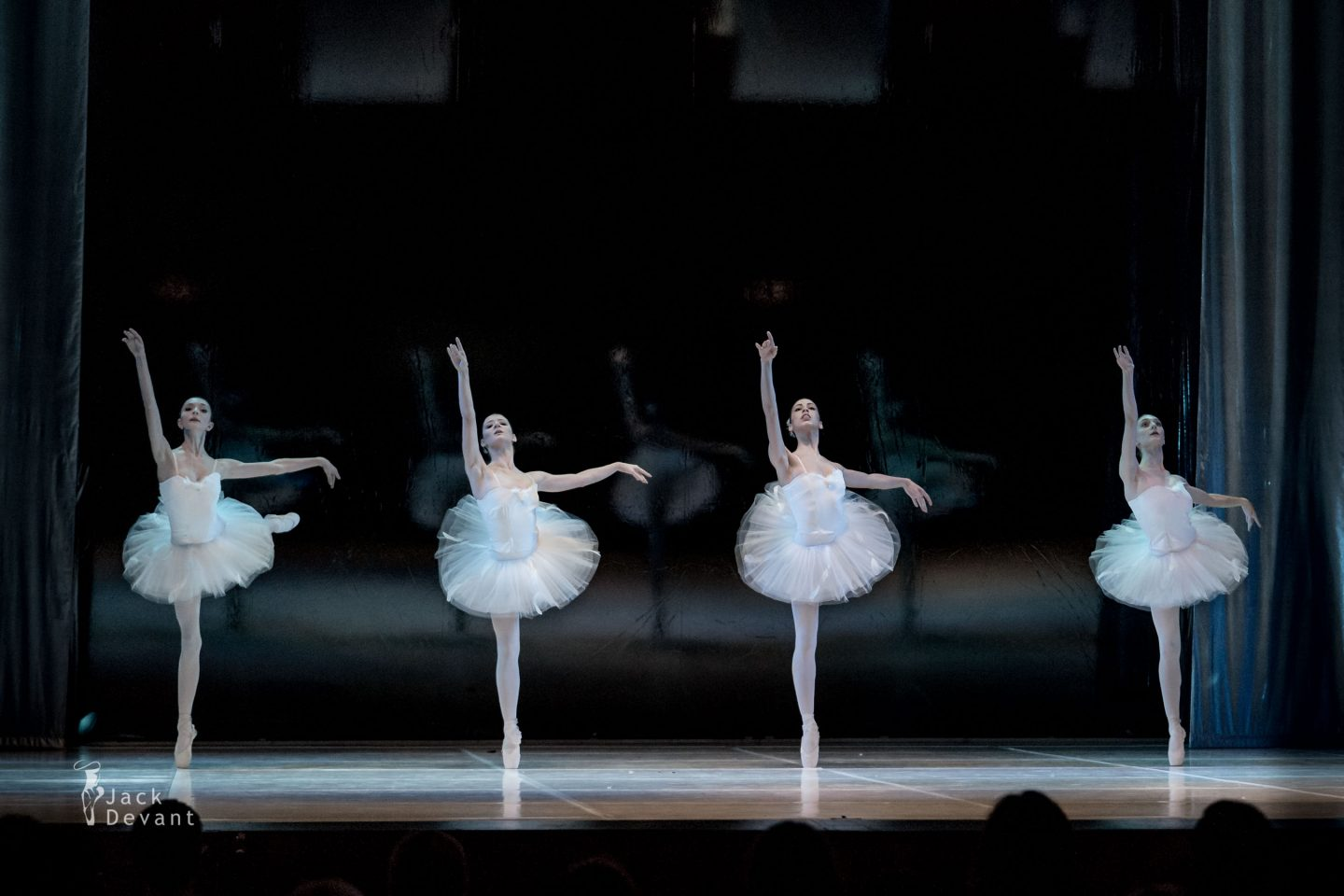 Swan Lake - Lisa Bottet, Giordana Roberto, Angelica Gismondo and Marta Orsi as four Swans