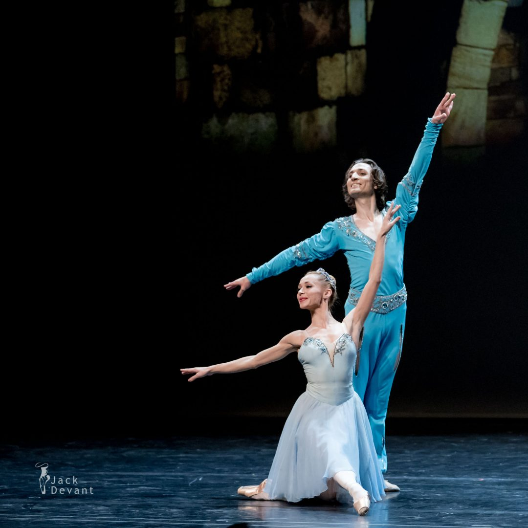Iana Salenko and Dinu Tamazlacaru in The Talisman pdd