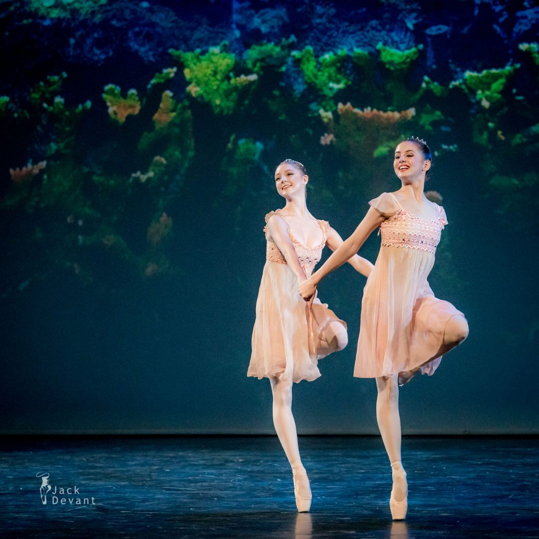 Madison Young, Zsófia Laczkó and Alexandru Tcacenco in The Ocean and Pearls