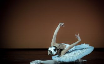 Maria Pogosyan-Semeniachenko in The Dying Swan