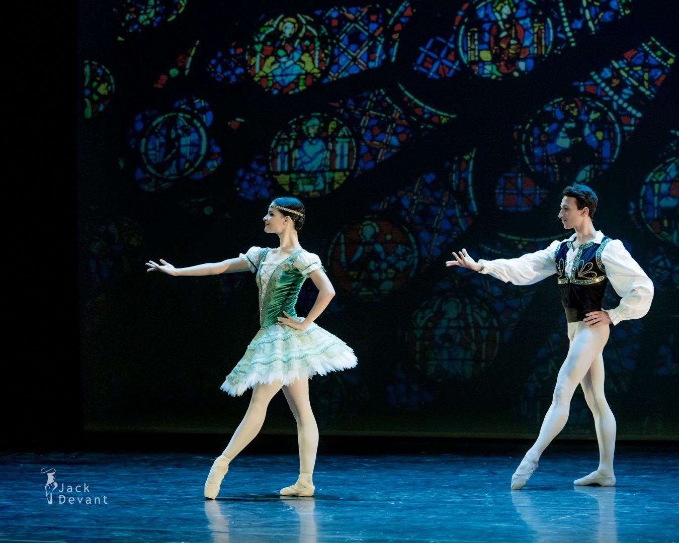 Rosa Pierro and Rinaldo Venuti in Esmeralda pdd