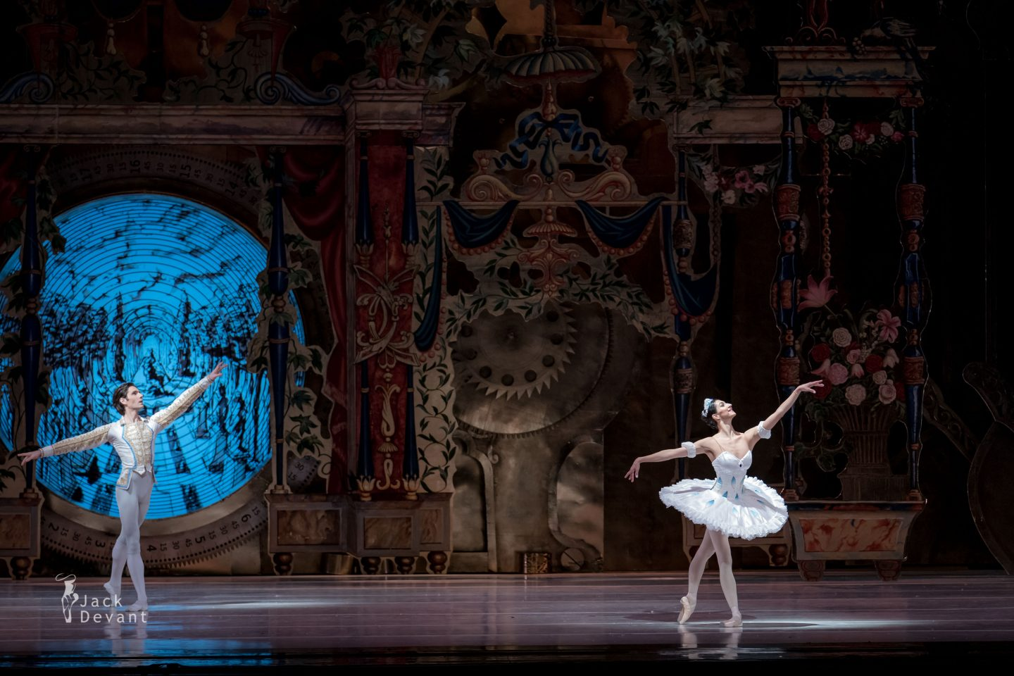 Chinara Alizade and Vladimir Yaroshenko in The Nutcracker PDD