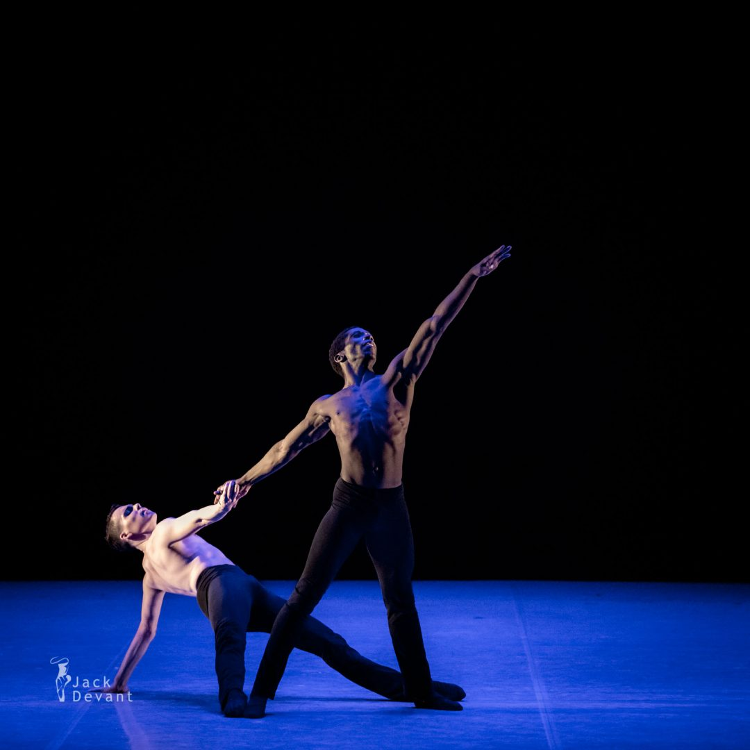 Brandon Alexander and Jacob Casey in Casanova and Baffo duet