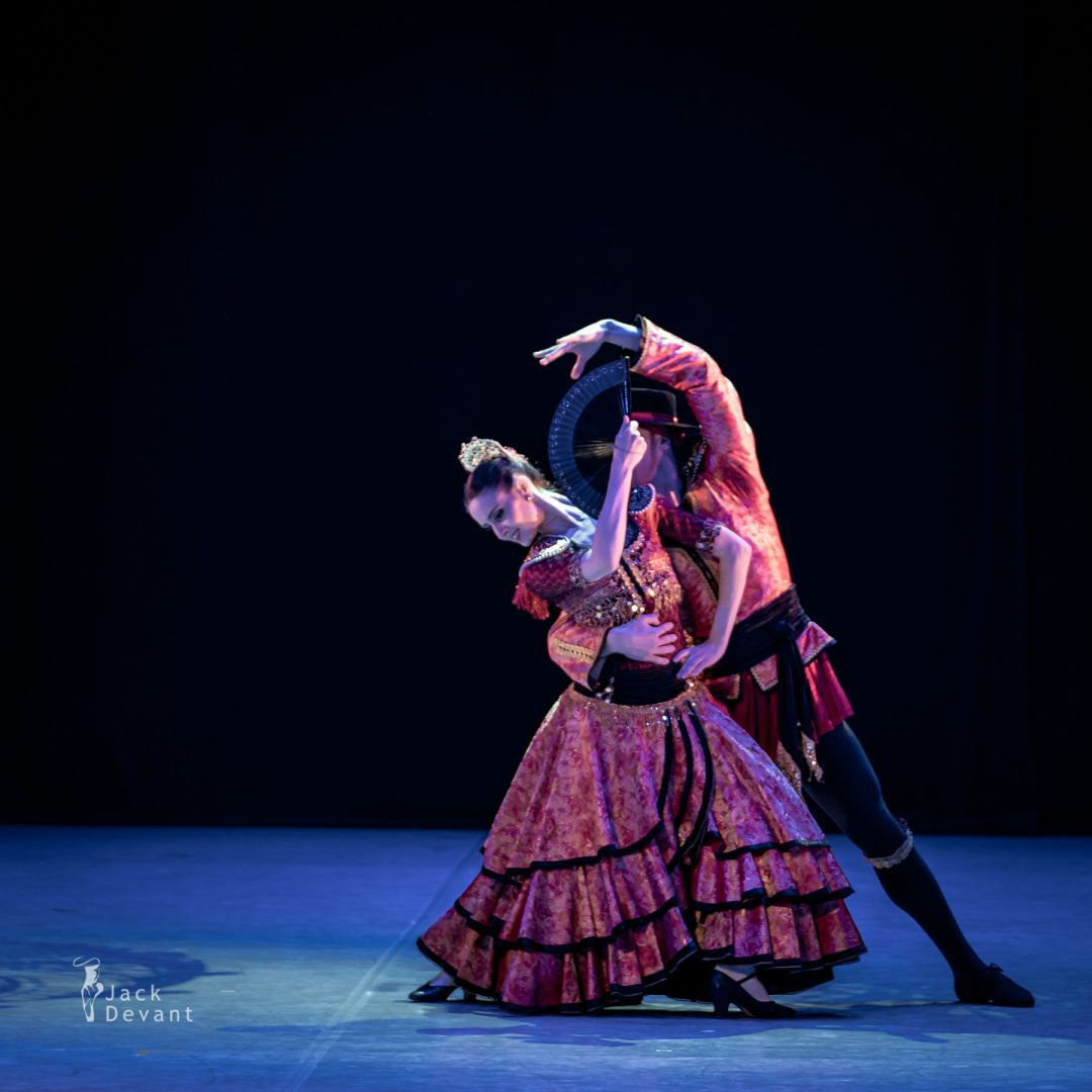 Amy Bowring and Giorgi Koridze in the Spanish Dance