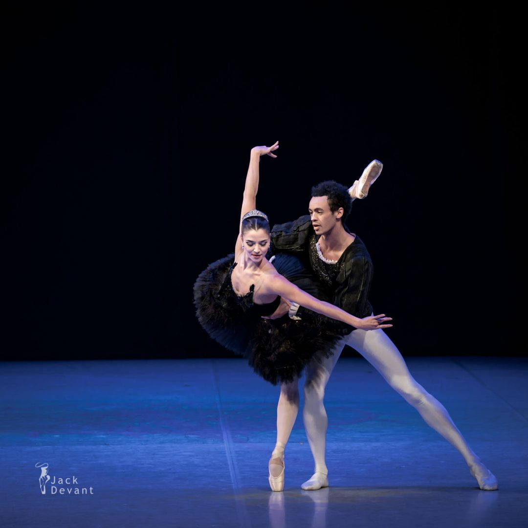 Maria Engel and Alexander Germain Drew in Swan Lake PDD