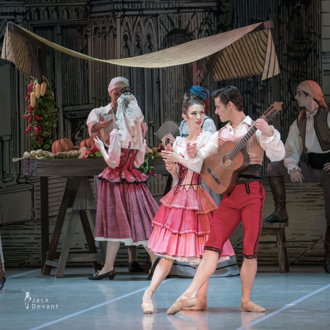 Alla Bocharova and Andrey Sorokin in Don Quixote act 1 1