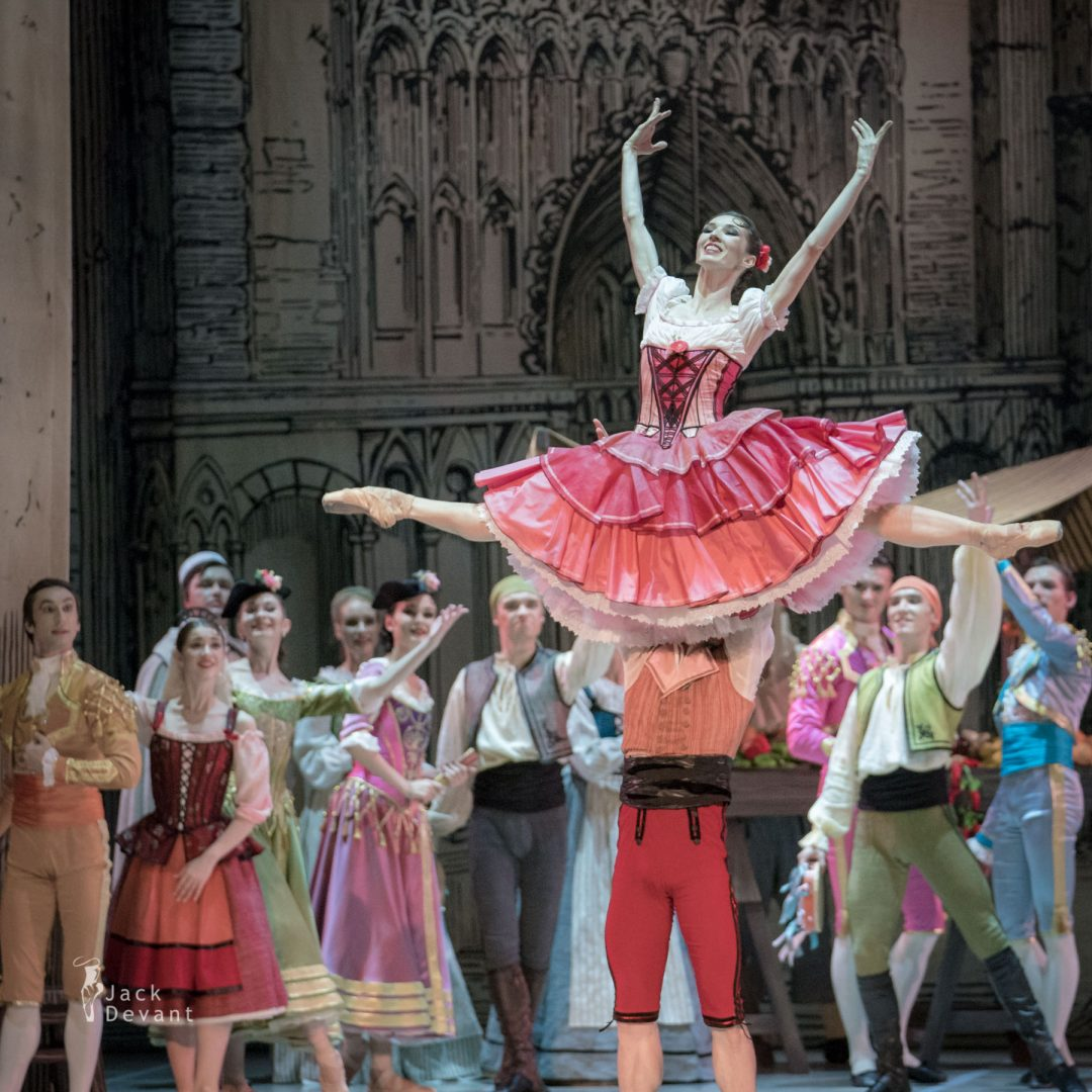 Alla Bocharova and Andrey Sorokin in Don Quixote act 1 3