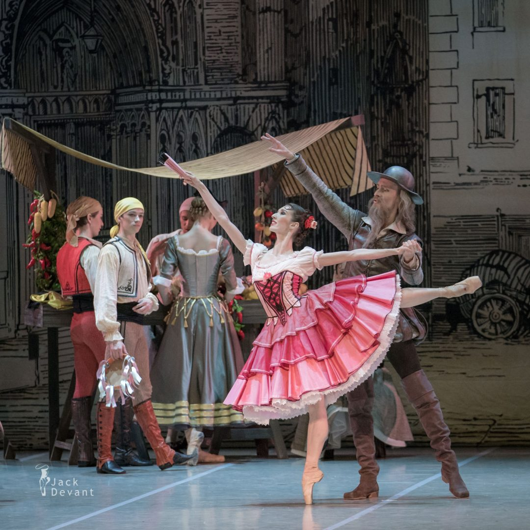 Alla Bocharova and Sergey Davydov in Don Quixote act 1