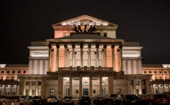 The Grand Theatre in Warsaw, Teatr Wielki night