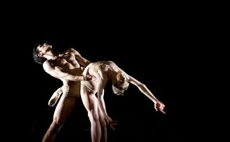 Melissa Hamilton and Roberto Bolle in the duet from Caravaggio