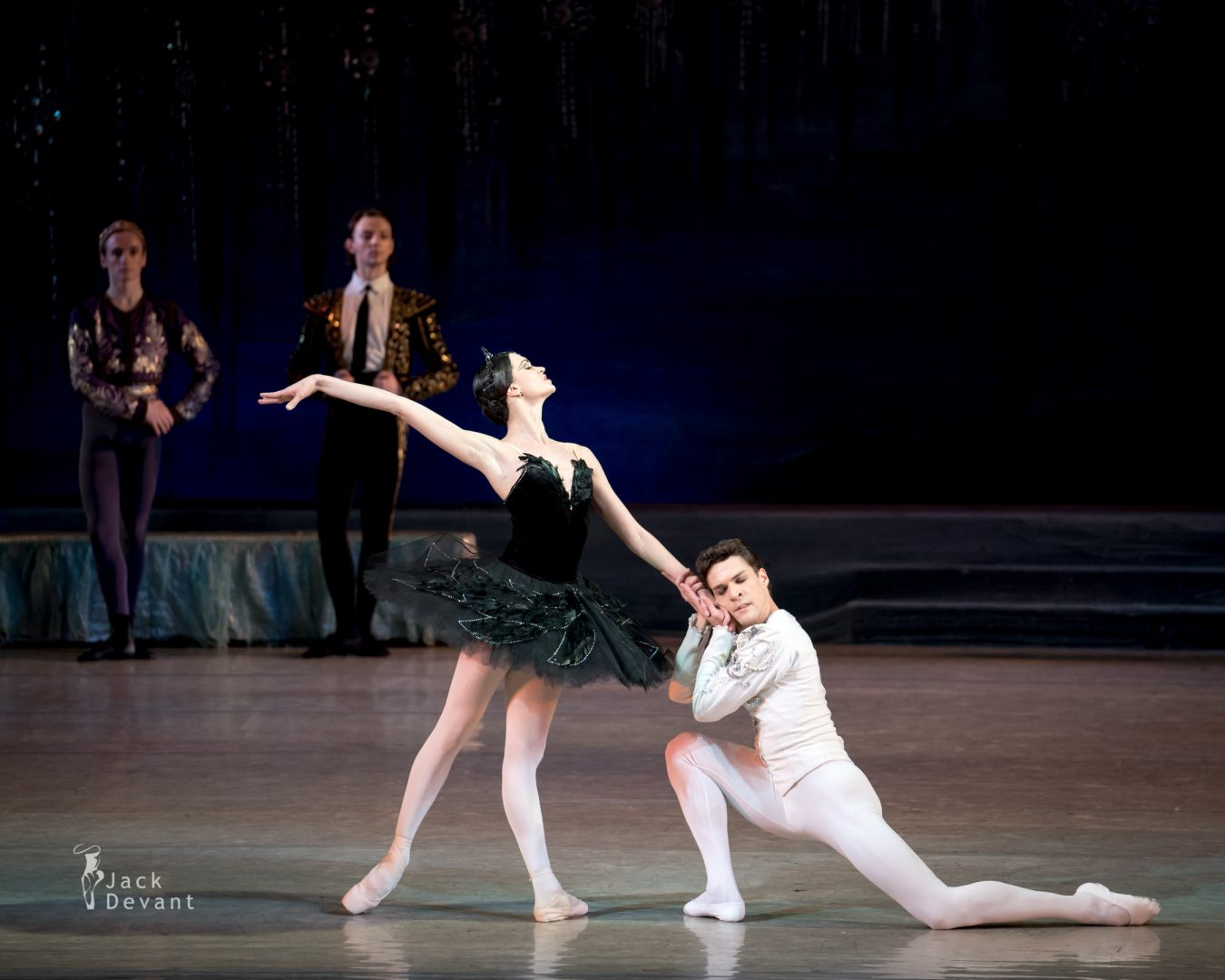 Swan Lake PDD Anastasiya Shevchenko and Denys Nedak final pose