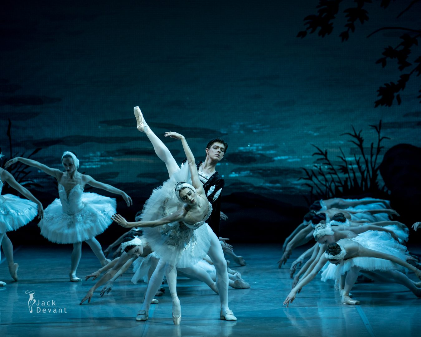Swan Lake, Anastasia Soboleva and Victor Lebedev, Mikhailovsky Theatre act 1 final