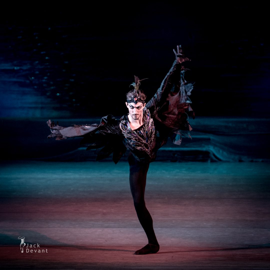 Swan Lake in Kiev, Stanislav Olshansky (ОЛЬШАНСЬКИЙ Станіслав) as Evil Genius Von Rothbart