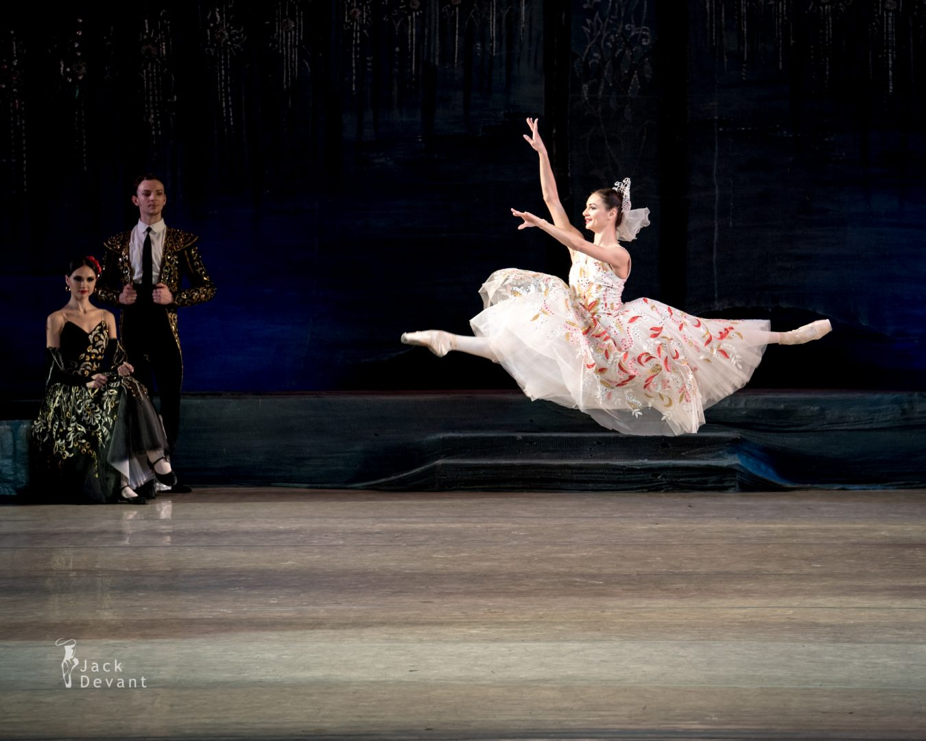 Swan Lake in Kiev, bride