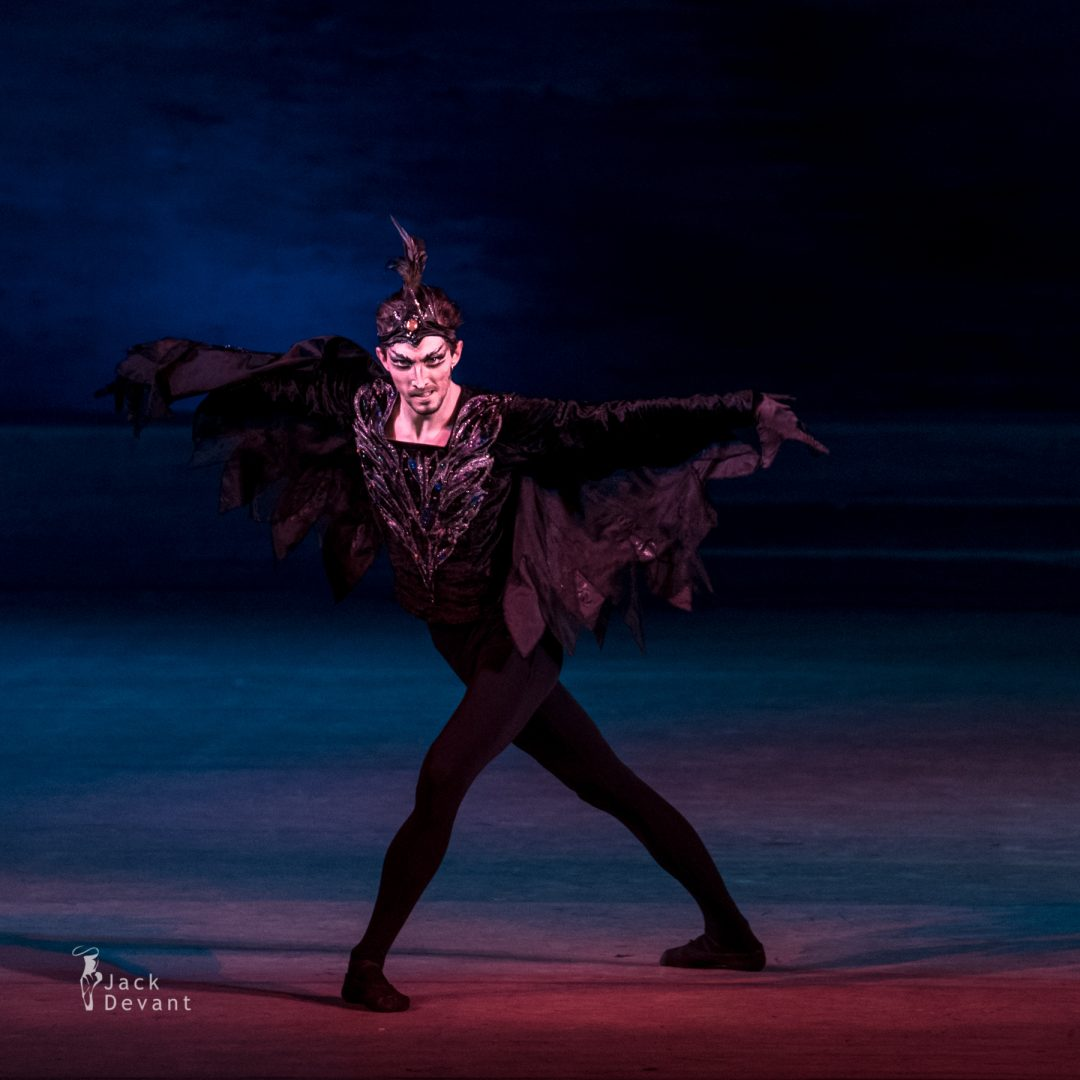 Swan Lake in Kiev, Stanislav Olshansky (ОЛЬШАНСЬКИЙ Станіслав) as Evil Genius Von Rothbart act 4