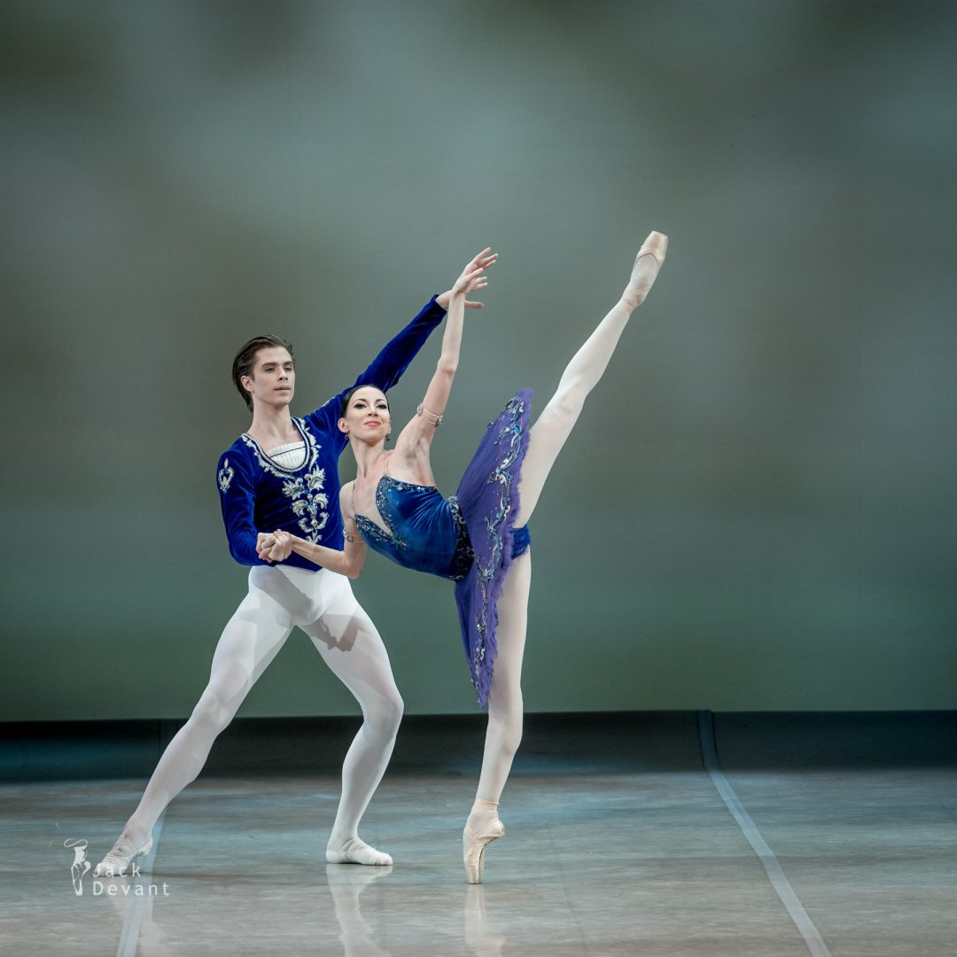 Victoria Tereshkina and Artem Ovcharenko in Grand pas Classique