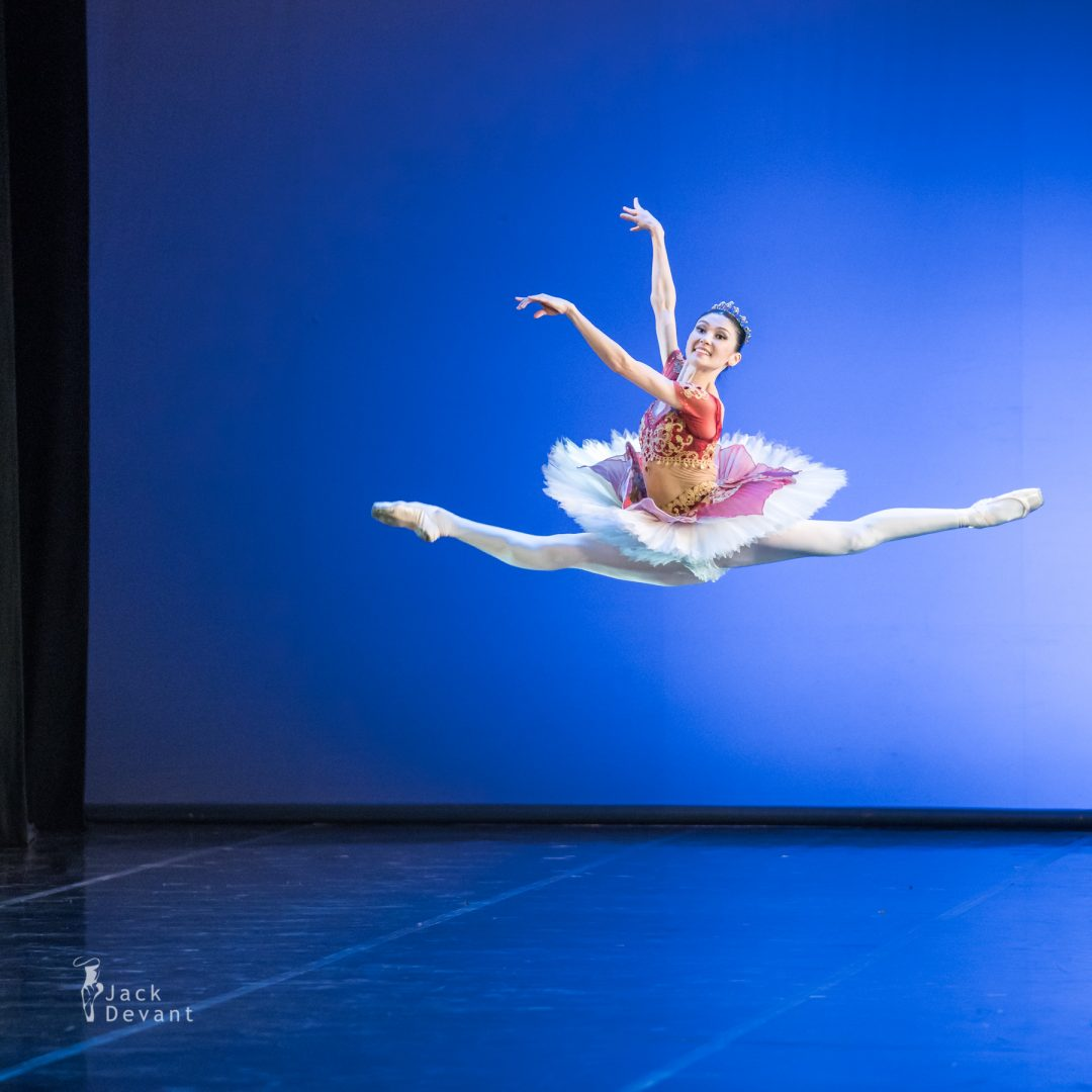 Aliya Tanykpayeva and Dmitry Timofeev in Le Corsaire