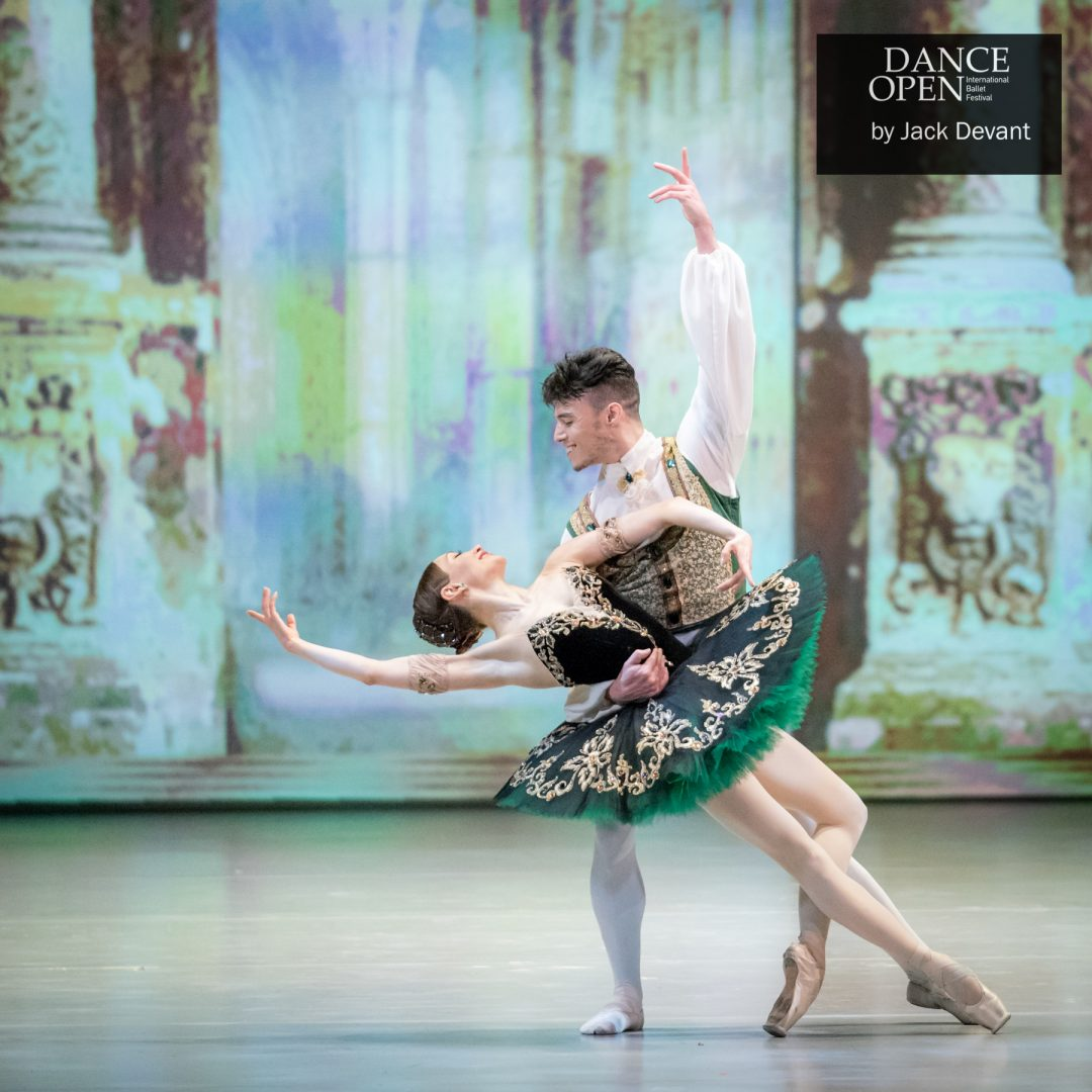Anna Ol and Joseph Gatti in Esmeralda pdd final pose