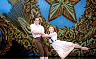 Ekaterina Krysanova and Igor Tsvirko In The Bright Stream