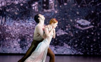 Ksenia Ovsyanick and Alejandro Virelles in No Man's Land