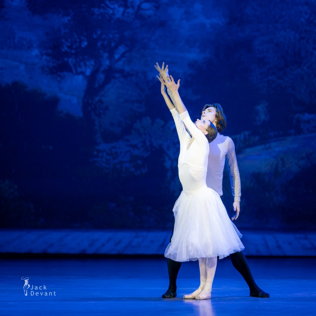 Nina Kaptsova and Artem Ovcharenko in the Duet from Nureyev