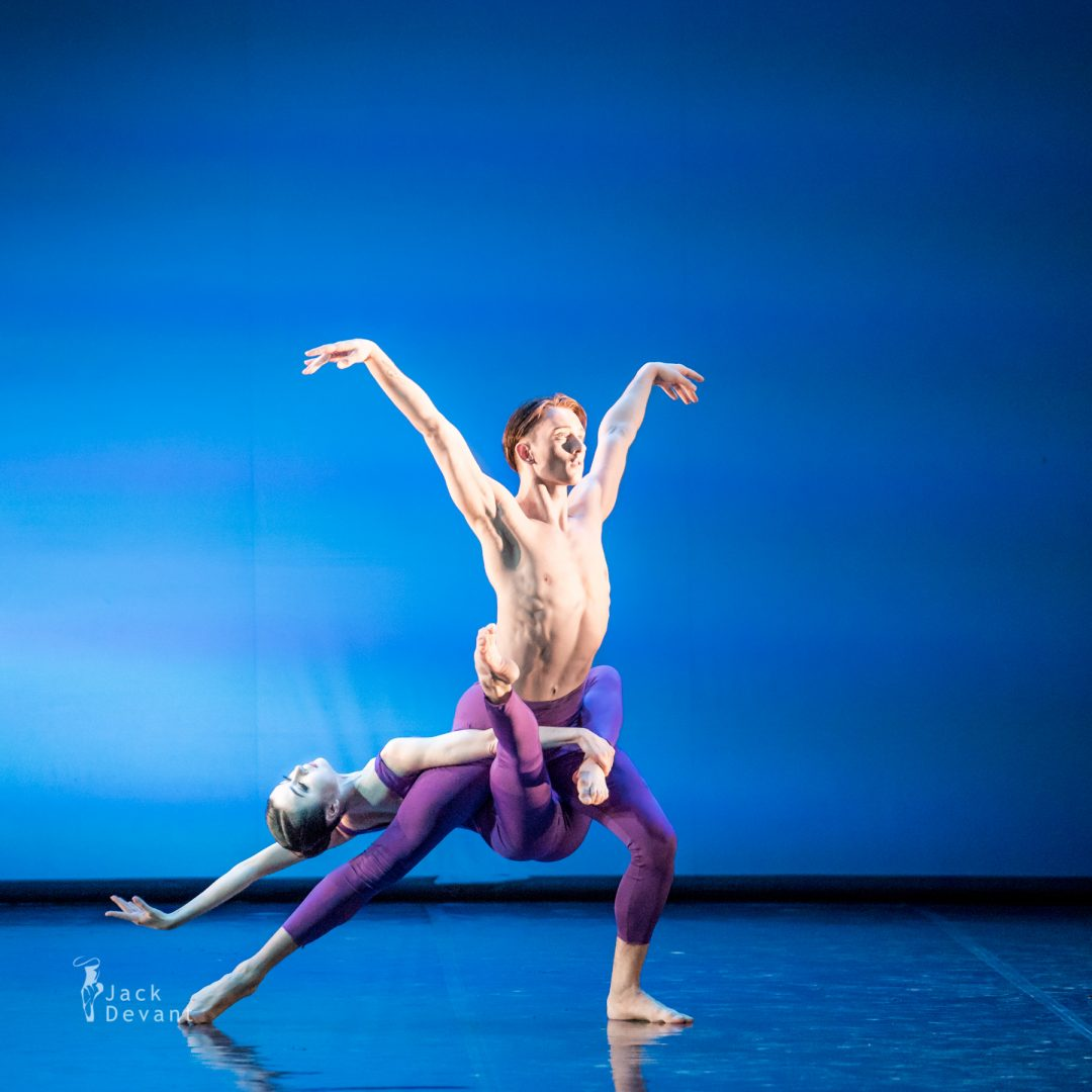 Julia Kuzmich and Artem Shoshyn in Pergolesi, TIBC 2018