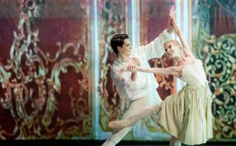 Tatiana Melnik and Gergely Leblanc in Manon