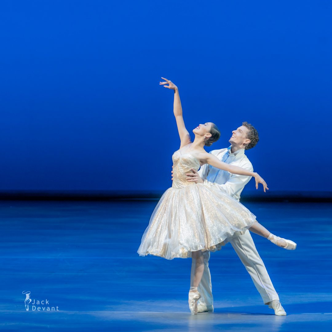 Ako Kondo and and Kevin Jackson in the duet from Cinderella