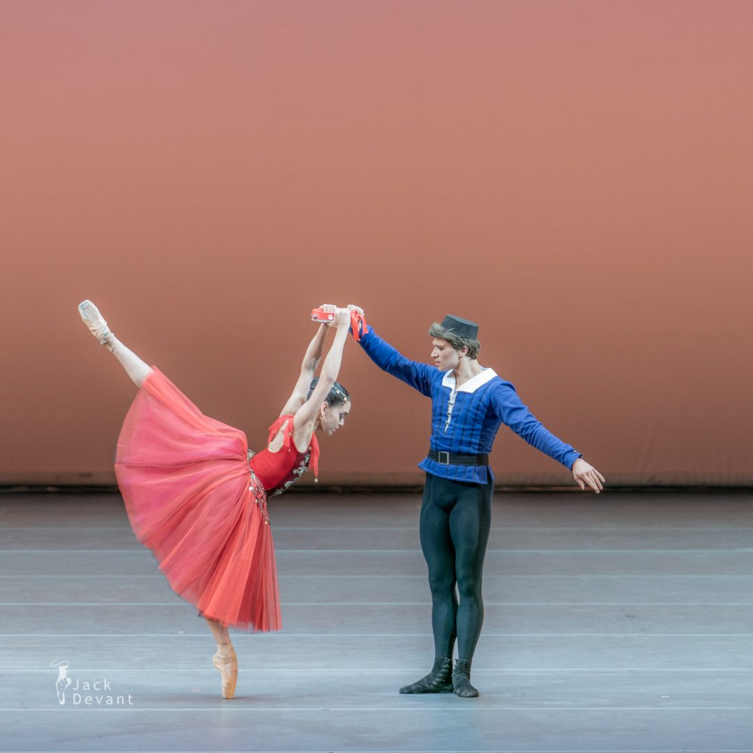 Amanda Gomes and Mikhail Timaev in Pas de six from Esmeralda 1