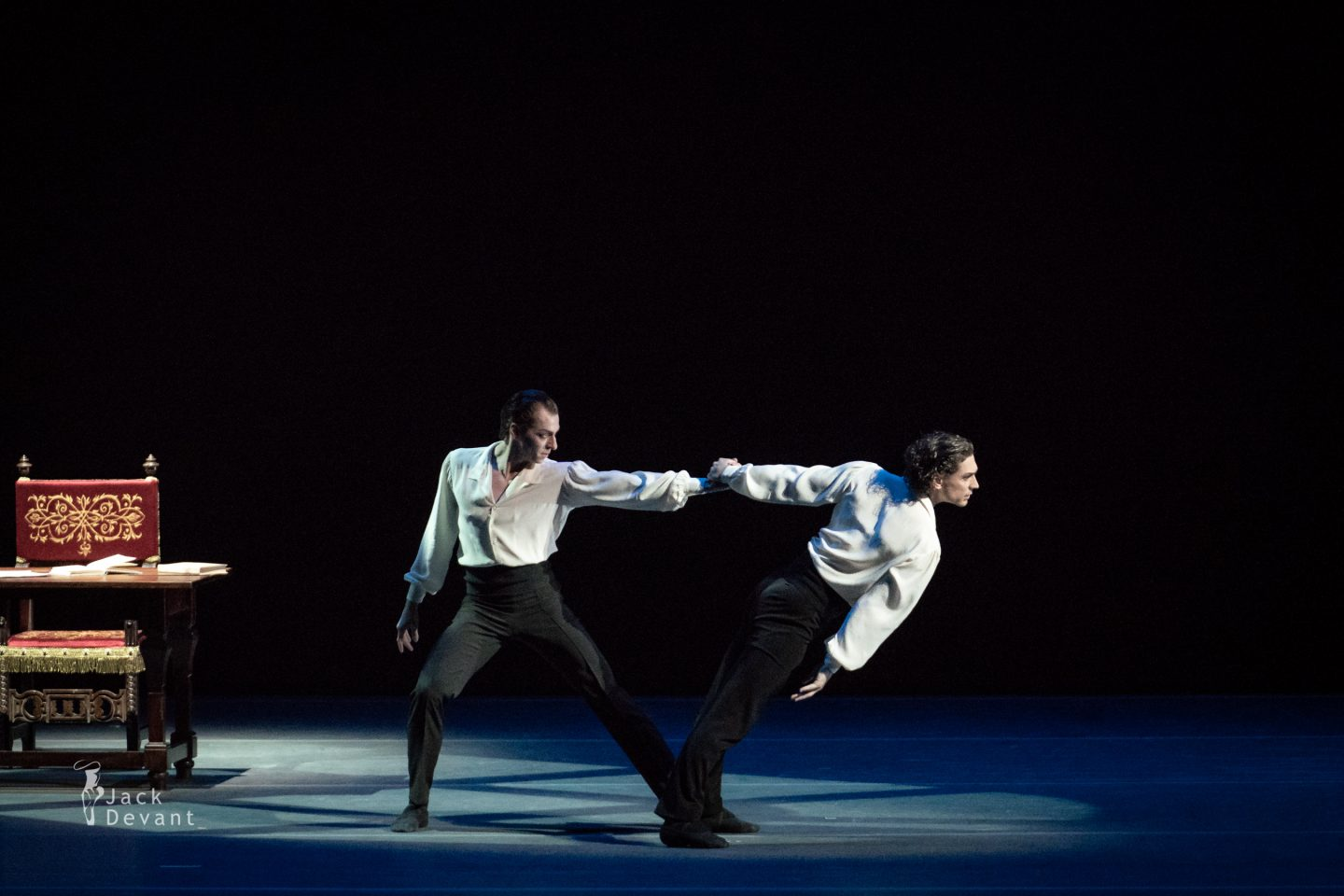 Maria Vinogradova, Ivan Vasiliev and Denis Savin in Faust