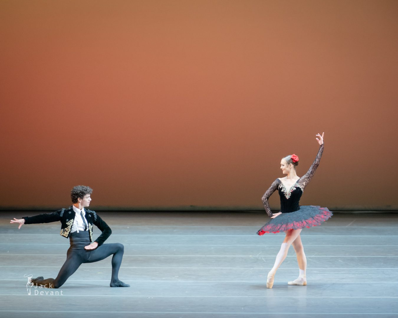Jurgita Dronina and Isaac Hernandez in pas de deux from Don Quixote
