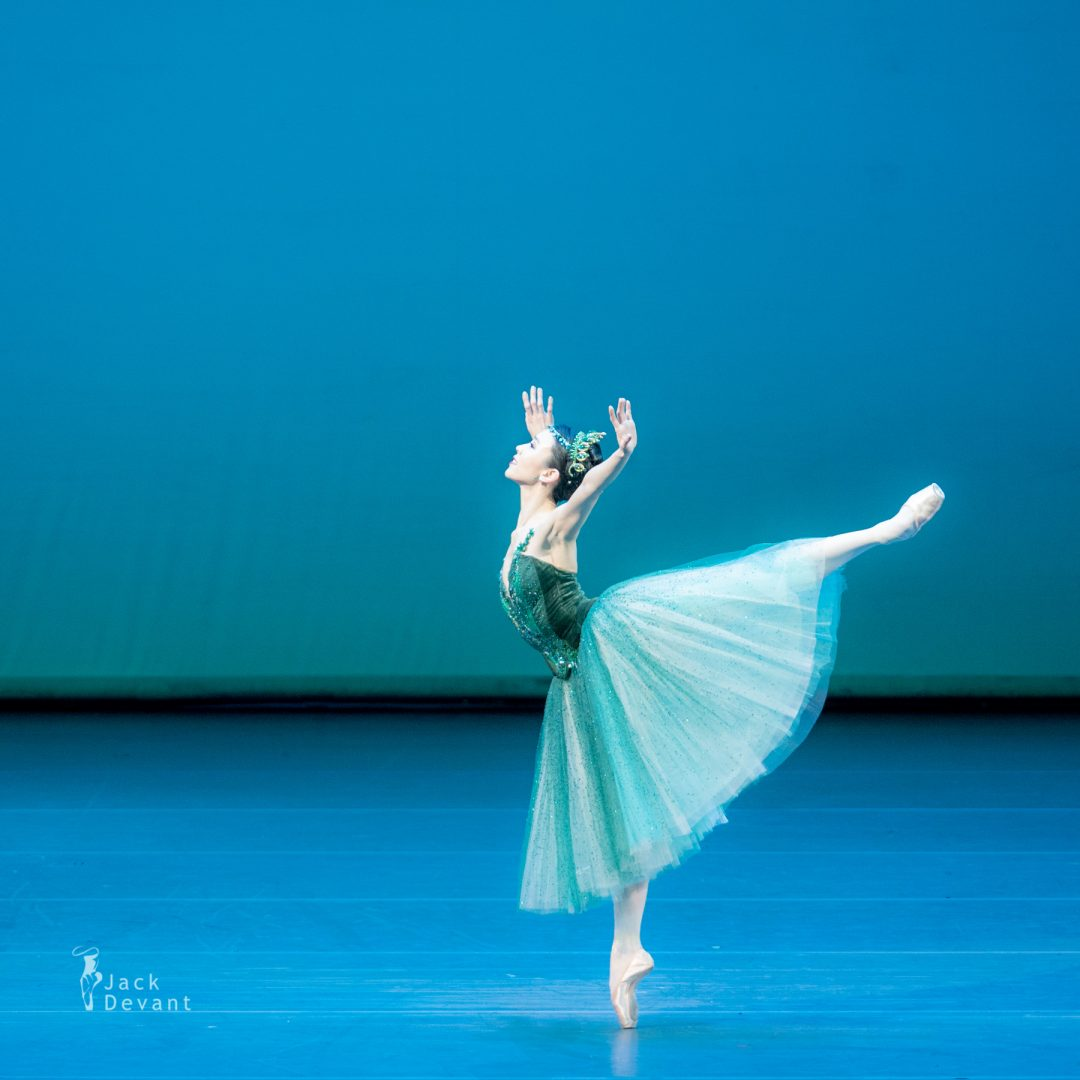 Sae Eun Park in variation from Emeralds of Jewels