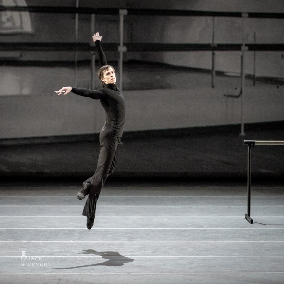 Denis Savin as Erik Bruhn in the duet of Nureyev and Erik from Nureyev