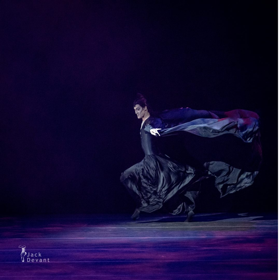 Jae Woo Lee in Fairy Carabosse variation from The Sleeping Beauty