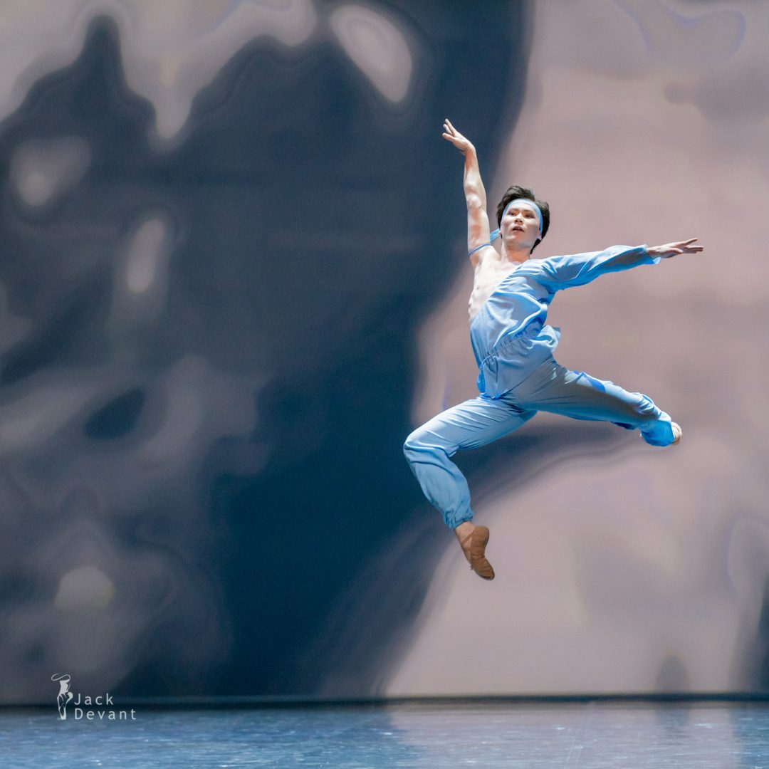 Erkin Rakhmatullaev in pas de deux from The Talisman 1