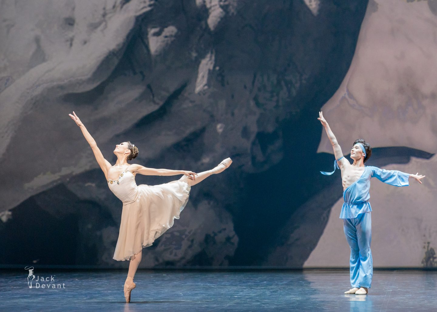 Madina Basbaeva and Erkin Rakhmatullaev in pas de deux from The Talisman 22