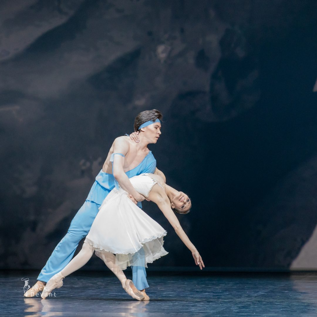 Madina Basbaeva and Erkin Rakhmatullaev in pas de deux from The Talisman 23