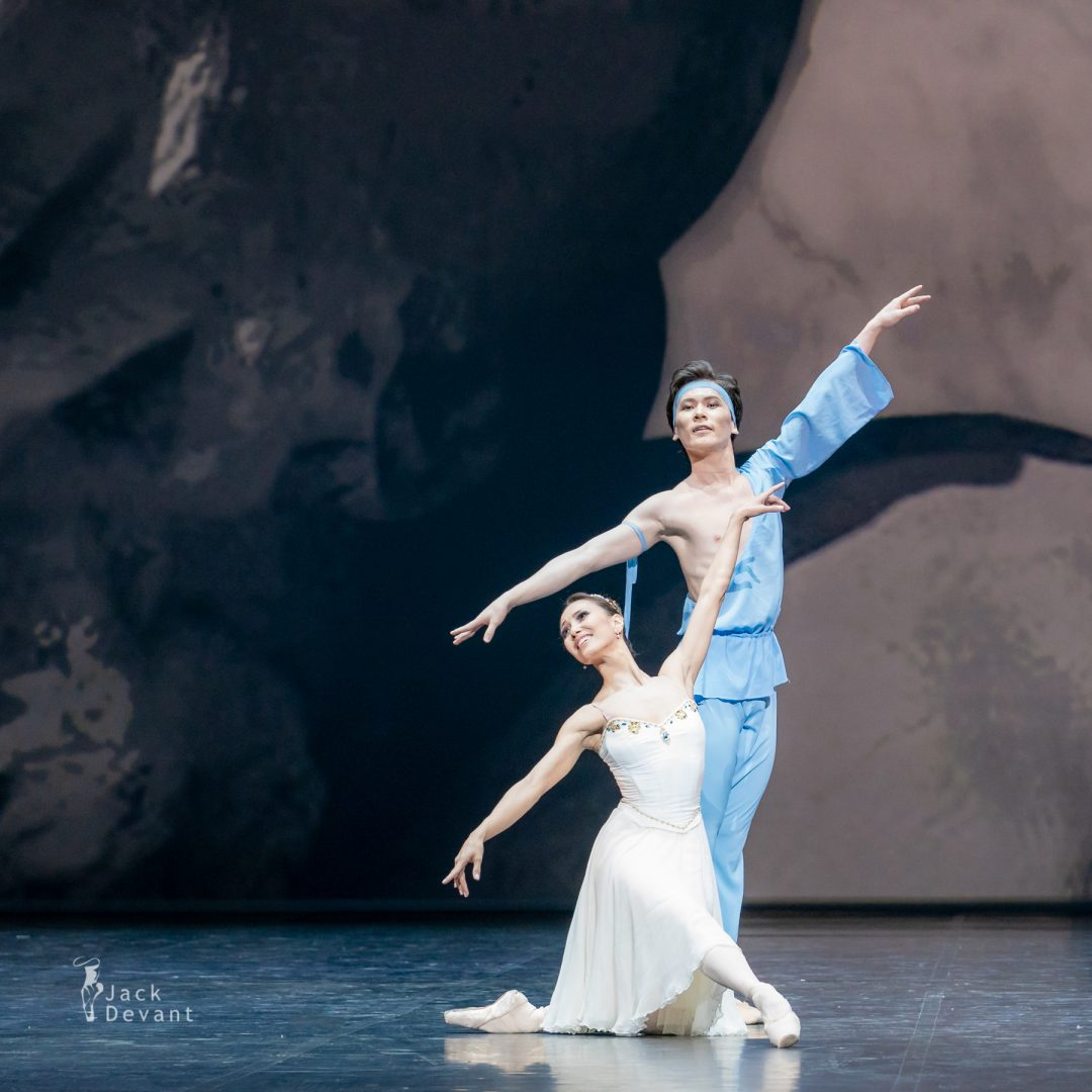Madina Basbaeva and Erkin Rakhmatullaev in pas de deux from The Talisman 24