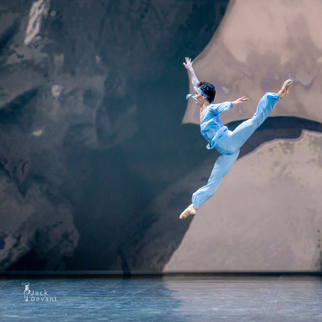 Erkin Rakhmatullaev in pas de deux from The Talisman 21