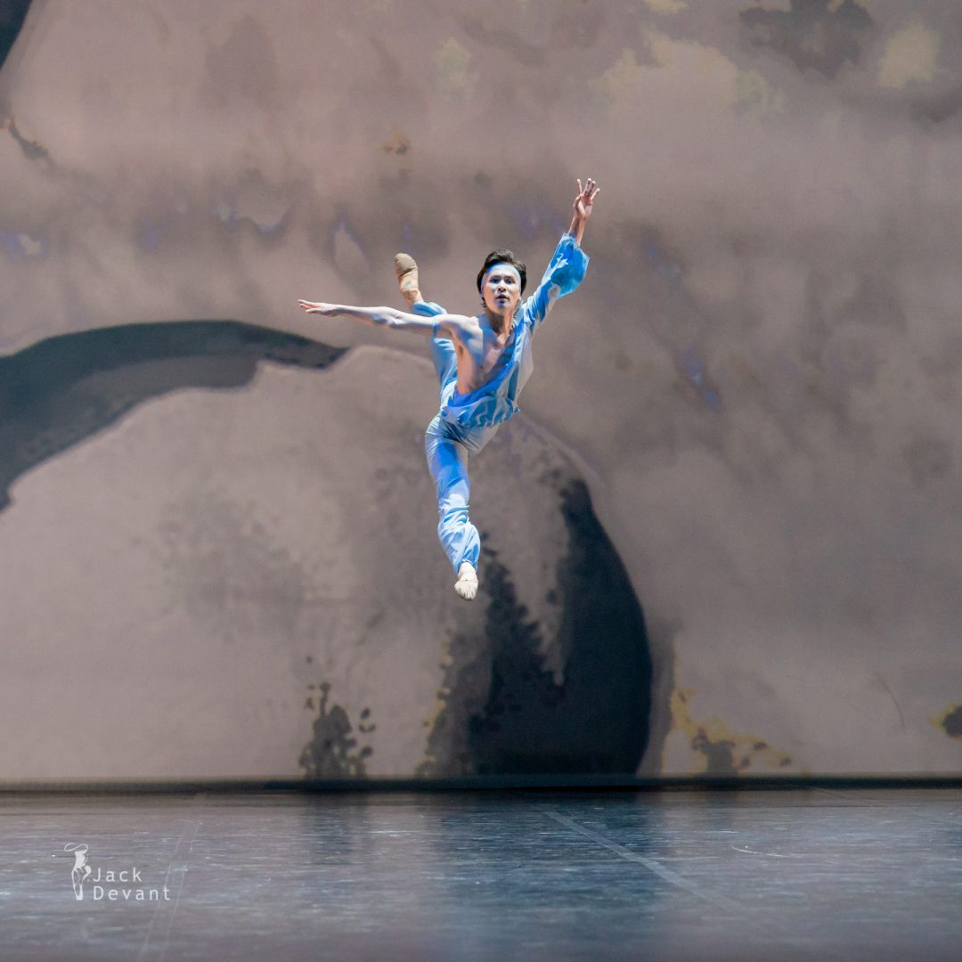Erkin Rakhmatullaev in pas de deux from The Talisman 22