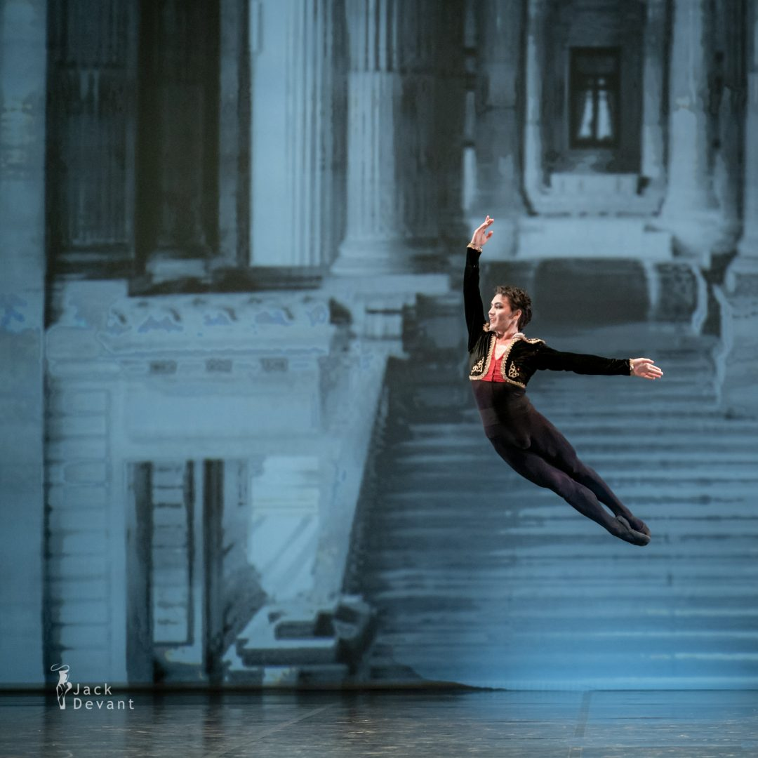 Bakhtiyar Adamzhan as Basilio in pas de deux from the ballet Don Quixote 3