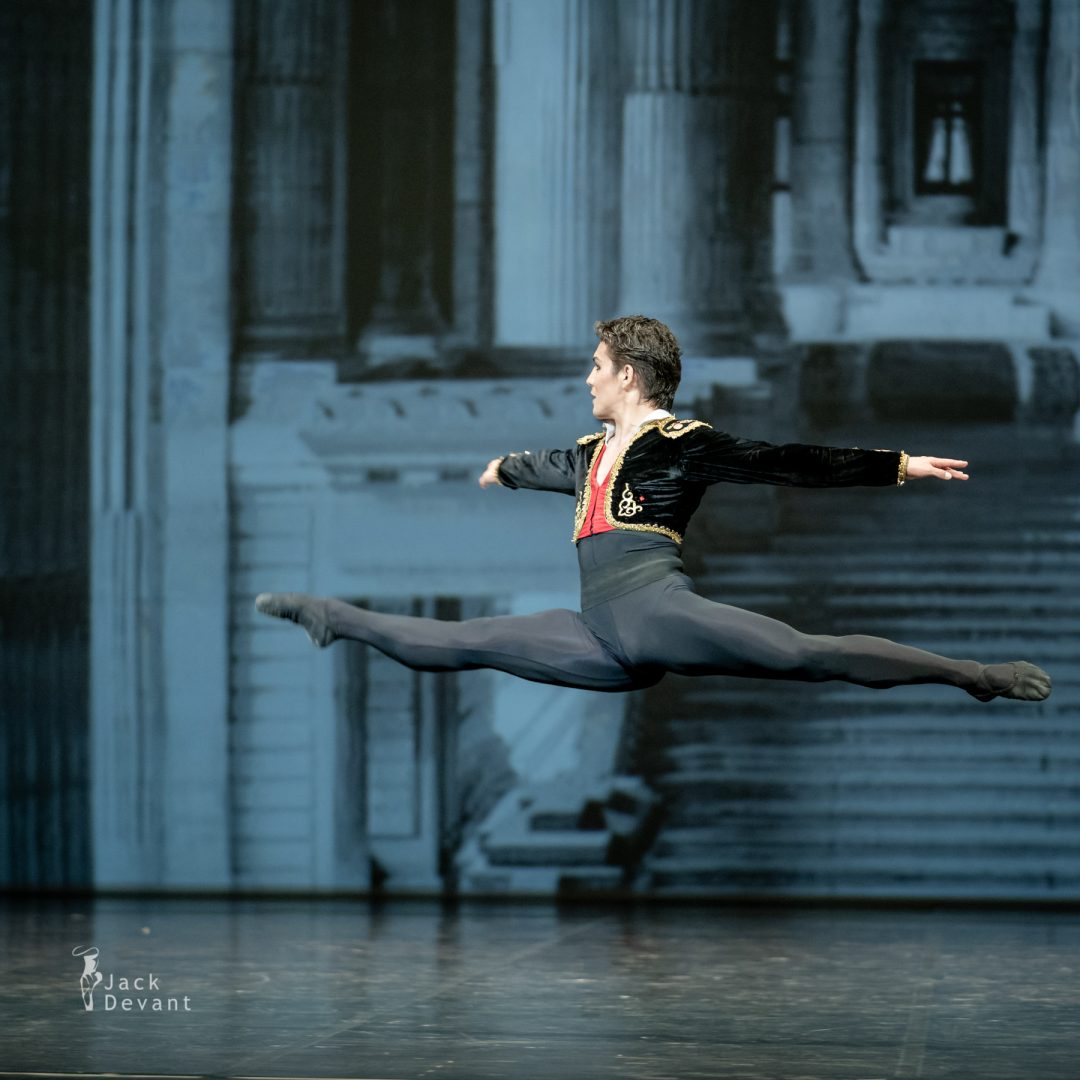 Bakhtiyar Adamzhan as Basilio in pas de deux from the ballet Don Quixote 2