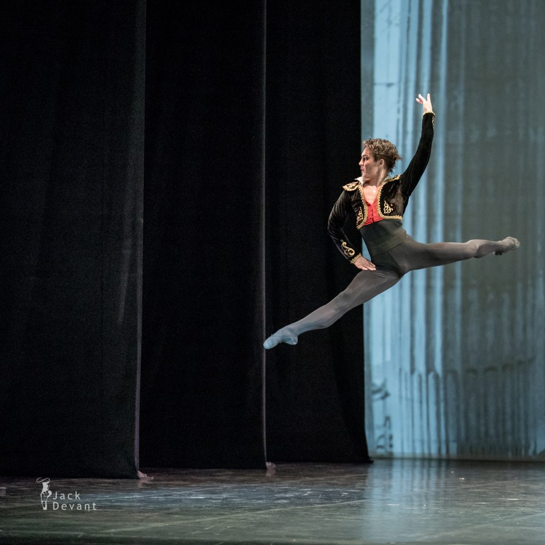 Bakhtiyar Adamzhan as Basilio in pas de deux from the ballet Don Quixote 1
