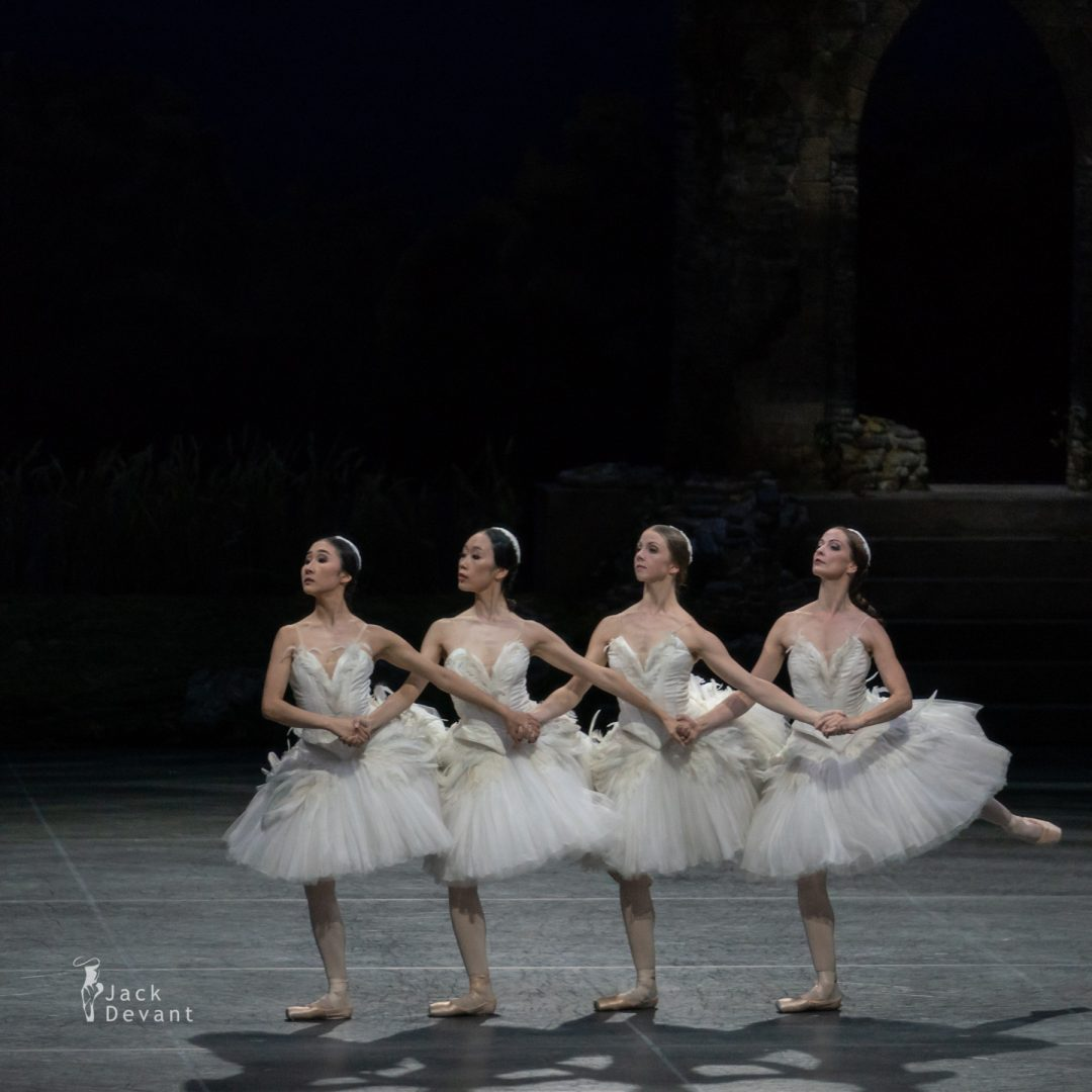 Four Cygnets in Swan Lake act 2 2