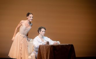 Dorothée Gilbert and István Simon In Manon