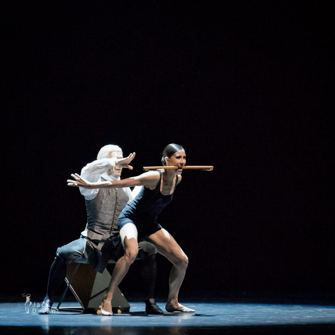 Elisa Carrillo Cabrera and Mikhail Kaniskin in Multiplicity. Forms of silence and emptiness