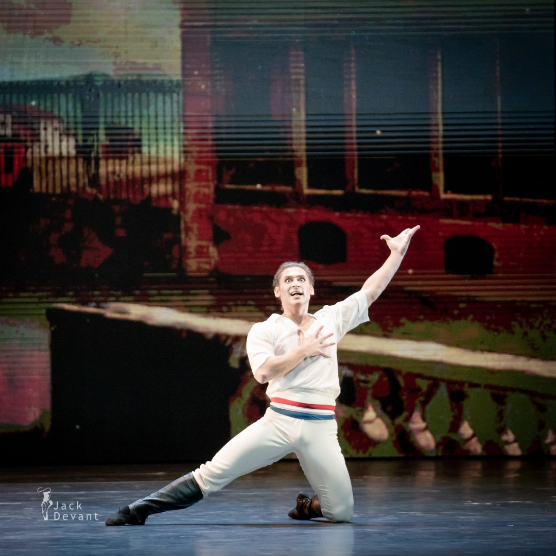 Margarita Shrainer and Ivan Vasiliev in The Flame of Paris