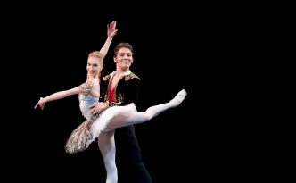 Tatiana Melnik and Bakhtiyar Adamzhan in Don Quixote