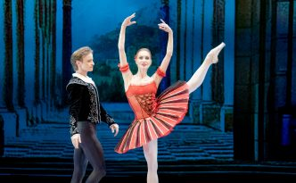 Daniil Simkin and Tatiana Melnik in Don Quixote